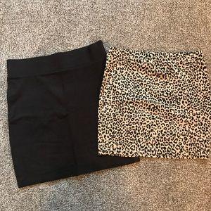 🎀Forever 21🎀 2 Mini skirts